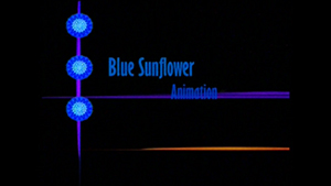 bluesunflower, animation