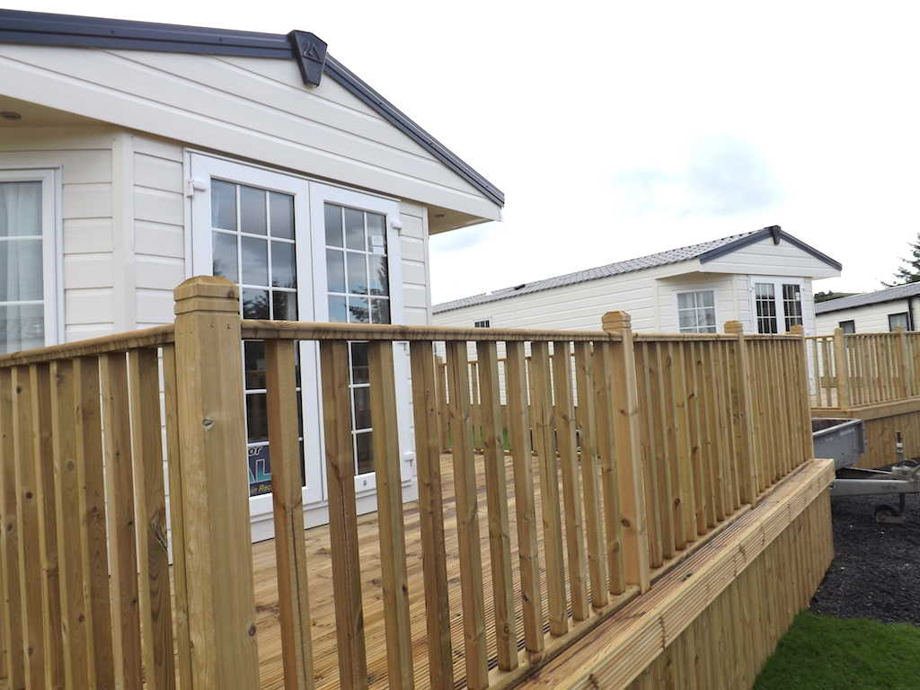 Luxury holiday static homes for sale at Penpont Holiday Park, Dumfries and Galloway