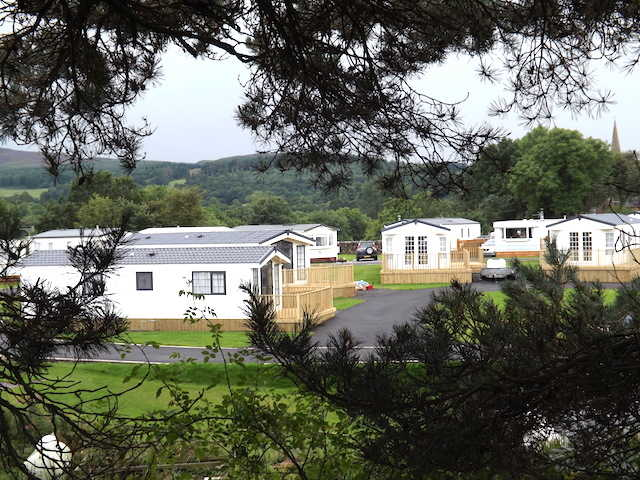 Static Holiday Homes at Penpont Holiday Park, Penpont, Dumfries and Galloway, Scotland