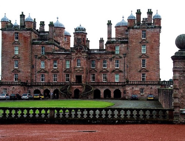 Drumlanrig Castle near Penpont Holiday Park