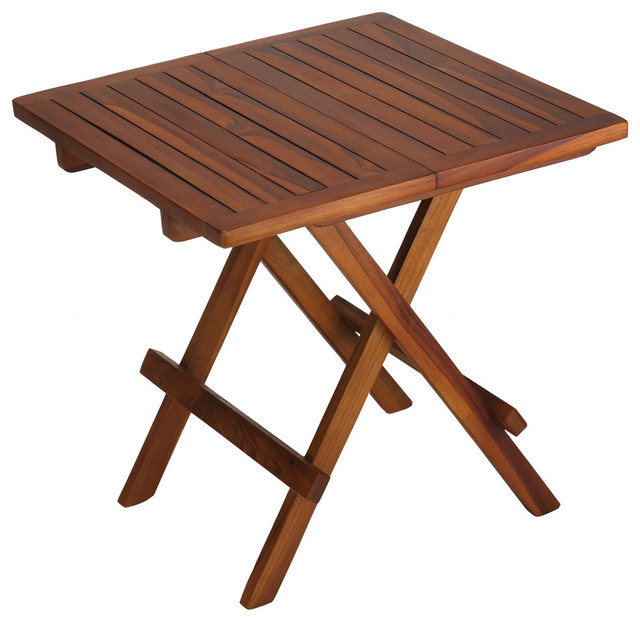 Folding picnic table for patios and outdoors