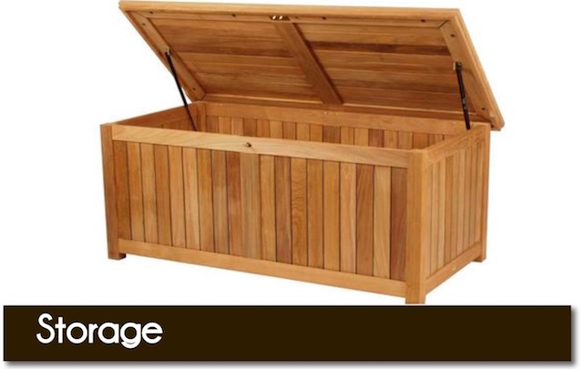 Quality wooden storage trunks from Surrey Hills Country Gardens of Cranleigh, Surrey, UK