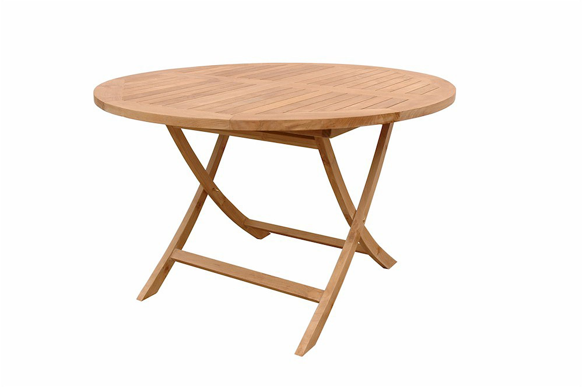 Folding patio table in high quality teak
