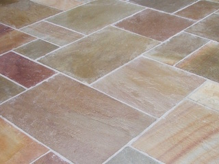Sandstone patios Newcastle Upon Tyne and Gateshead