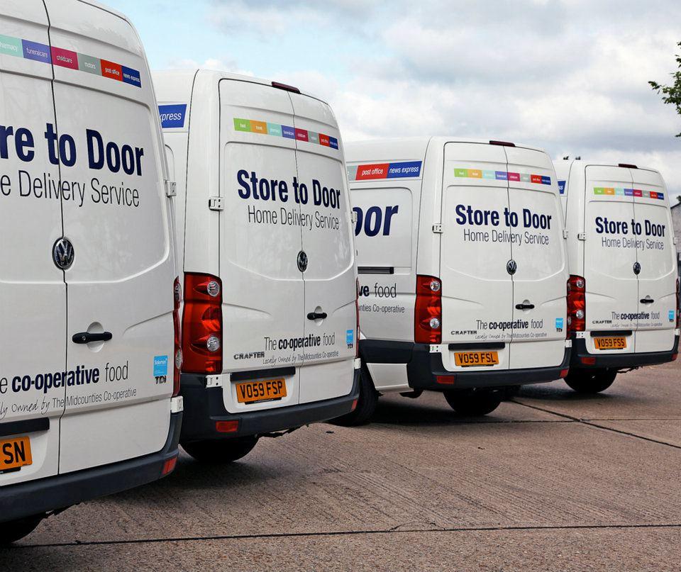 732d51a205 fleet with brand. Van ...