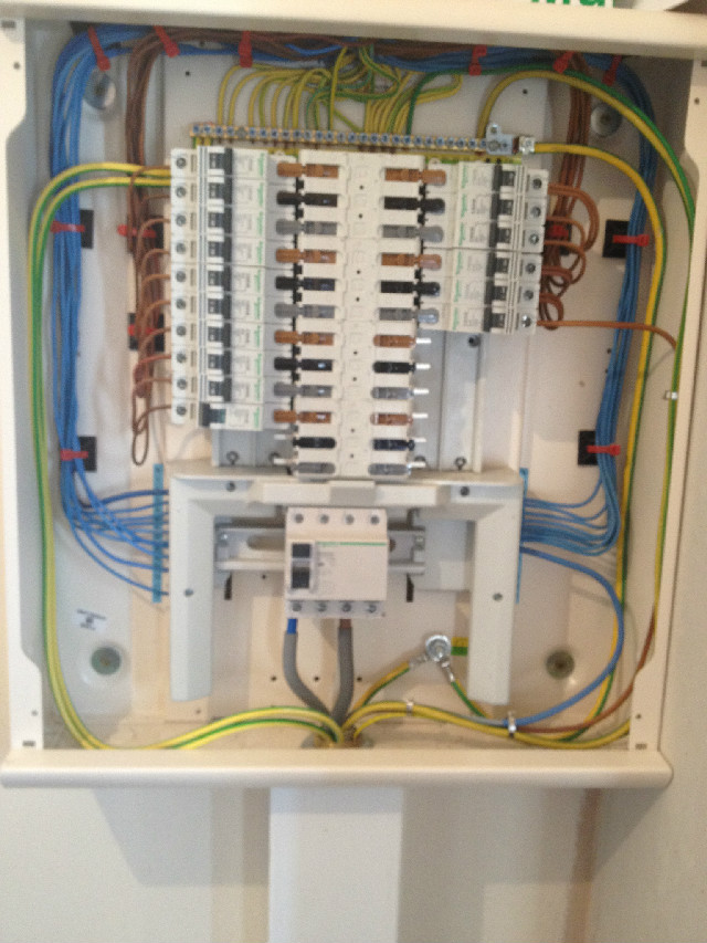 Wiring A Distribution Board Uk - Wiring Diagrams on