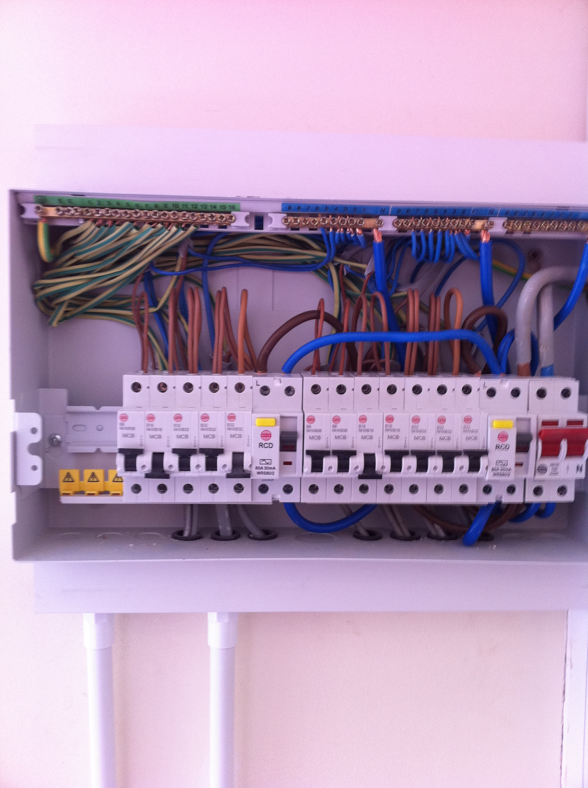 Fuse Board Upgrades Amp Rcd Protection North London