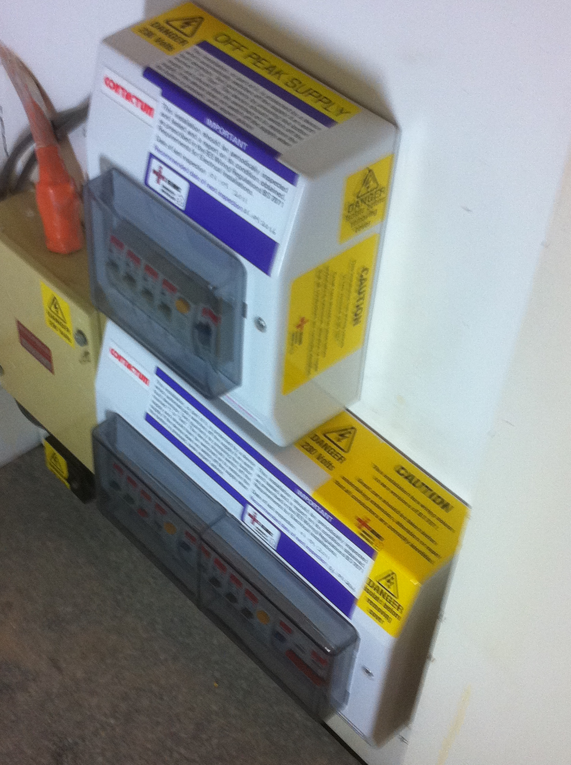 Fuse Board Upgrades Rcd Protection North London Wiring Up Consumer Unit Insulated With Dual