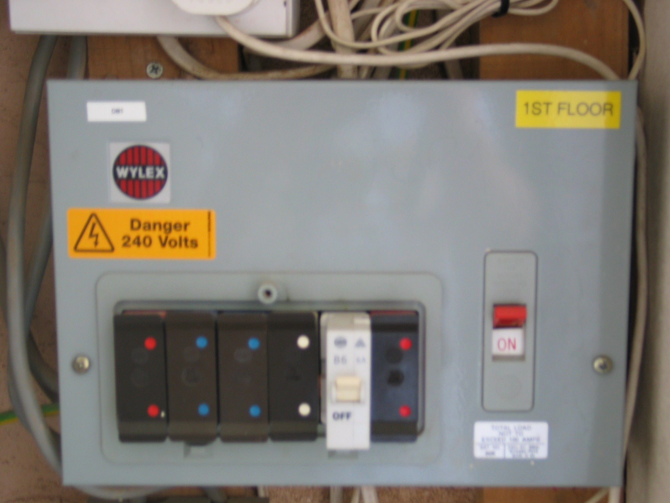 Fuse Board Upgrades Rcd Protection North London Wiring Up Consumer Unit Image Description