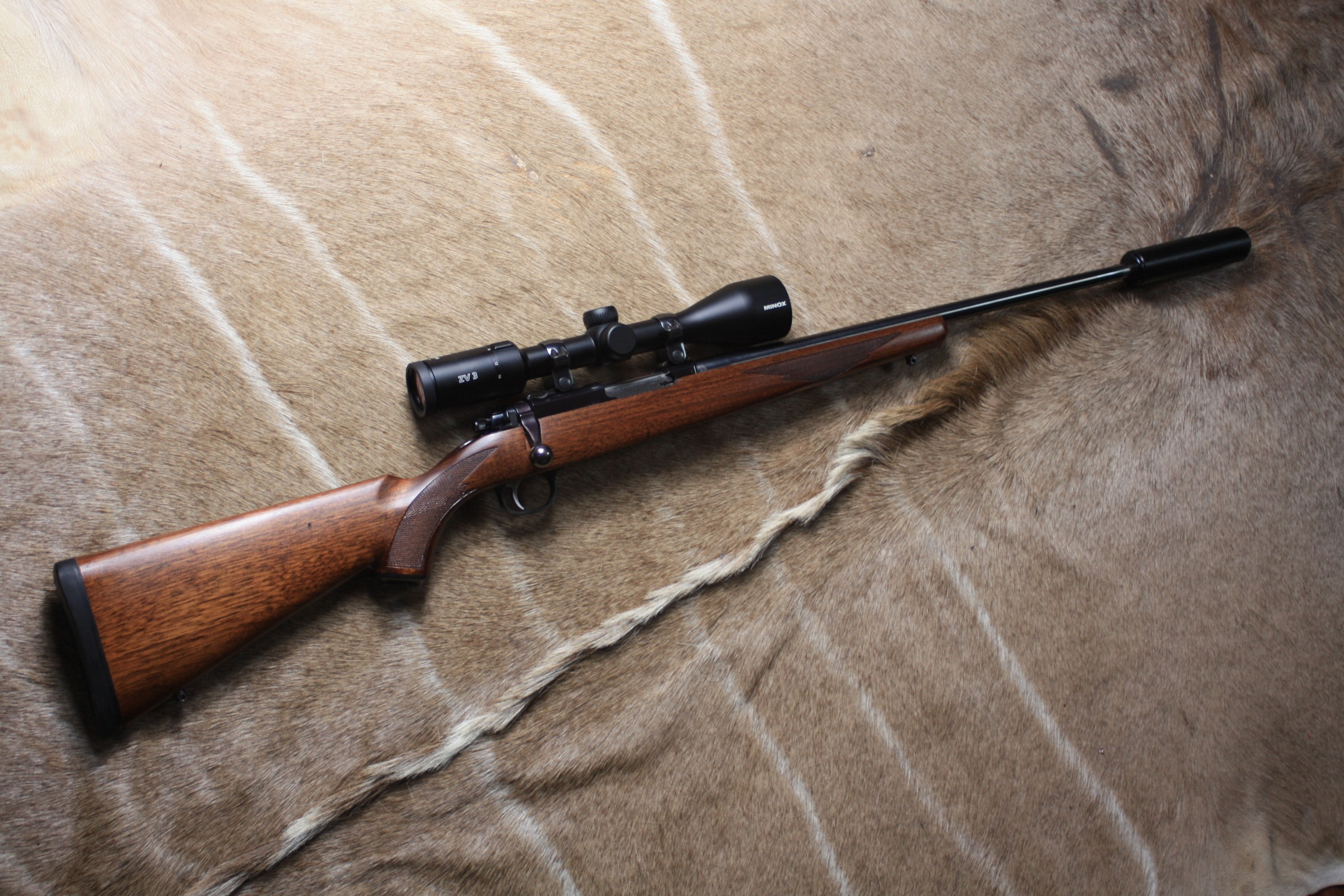 RUGER . 22 HORNET 'MODEL 77/22' Bolt Action Rifle