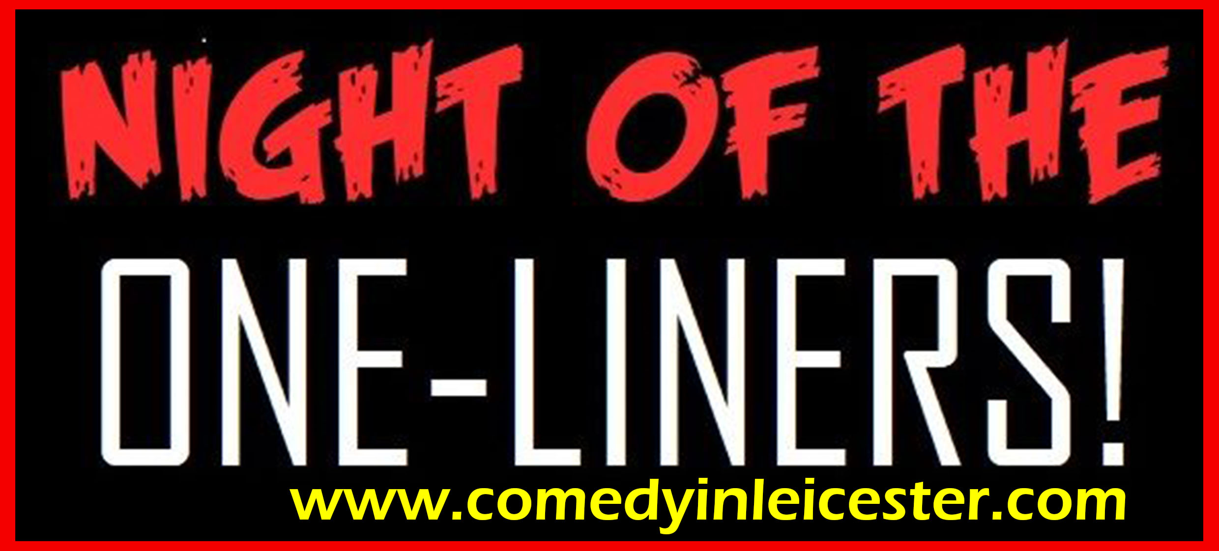 Comedy at The Mash & Press, Anstey 11/12/19