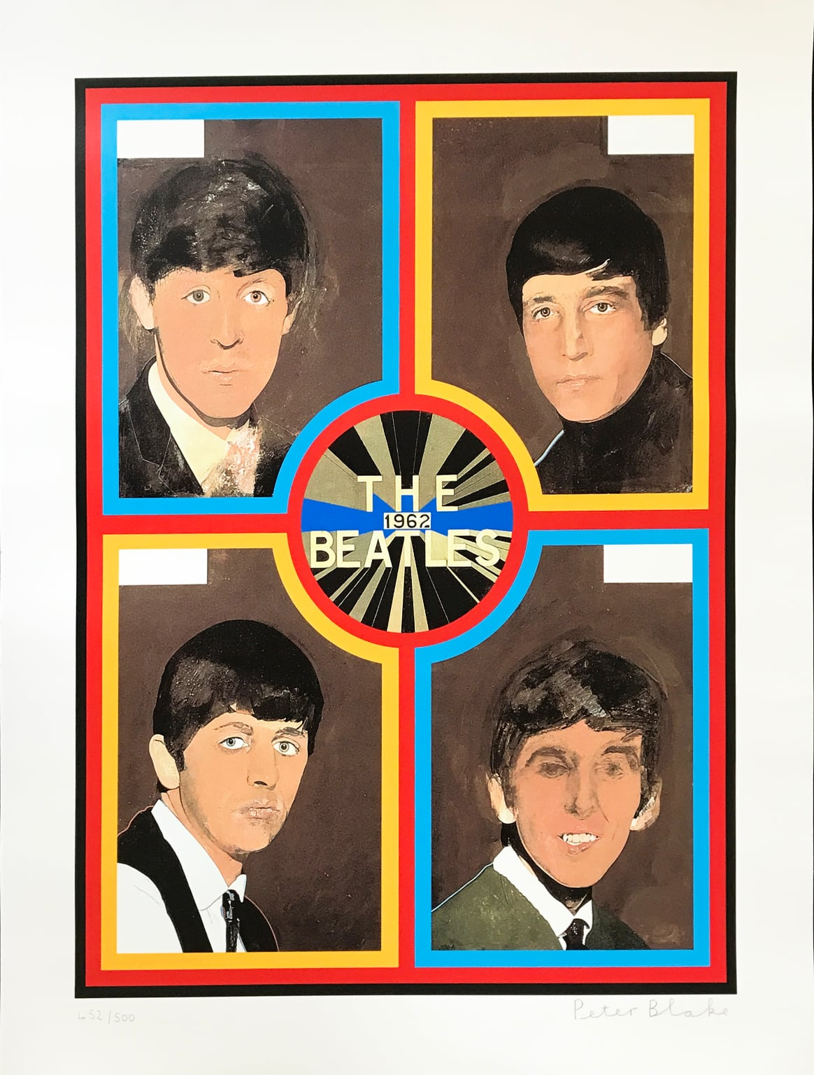 Peter Blake - The Beatles, 1962