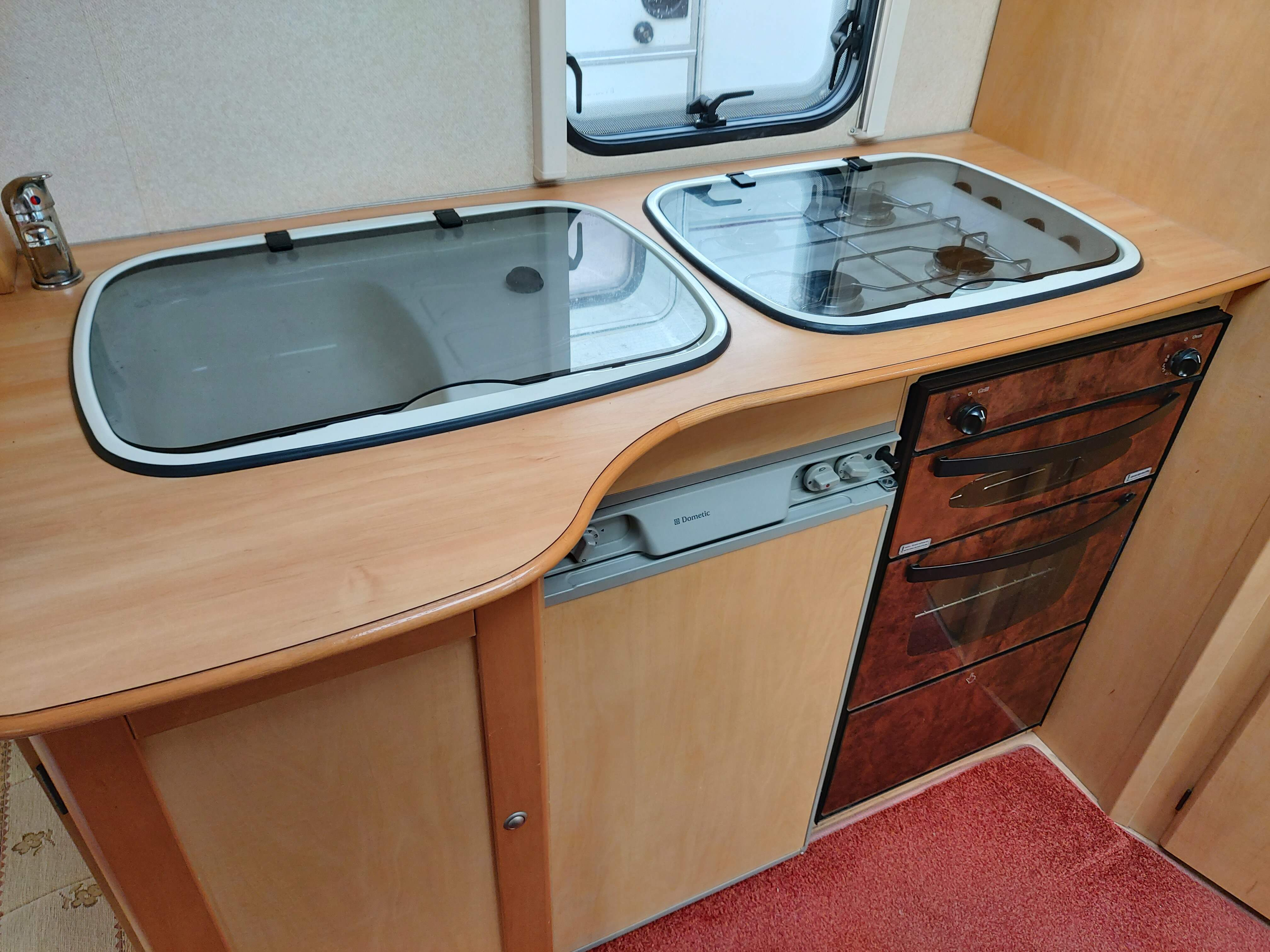 NOW SOLD Bailey Ranger 460 2 Berth End Washroom Caravan with Awning