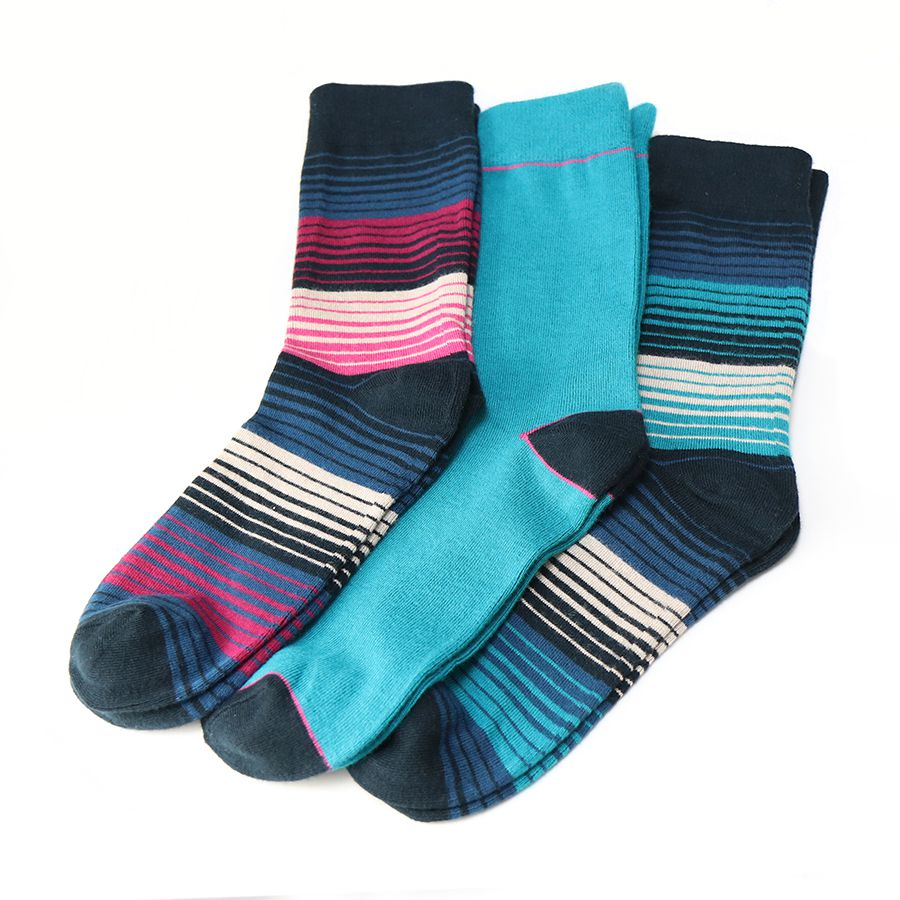 Boxed Socks for Men - Stripes