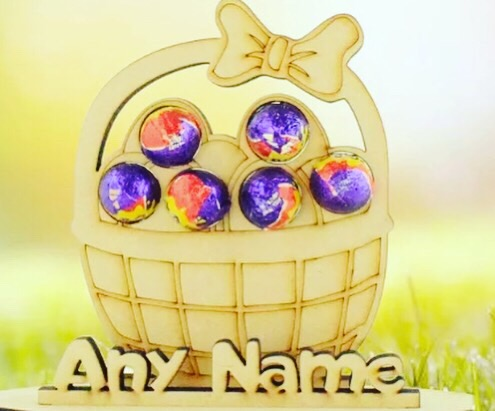 Easter Egg Holder (PERSONALISED OPTION AVAILABLE )